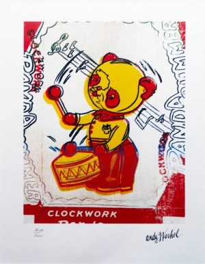 Andy warhol music bear